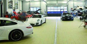 Un diagnostic gratuit proposé à tous  les clients de Porsche