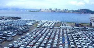 Recul des exportations automobiles à fin mars