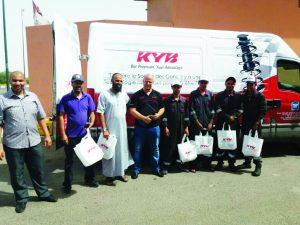 KYB et Maghreb Accessoires  sur la route des ateliers du Maroc