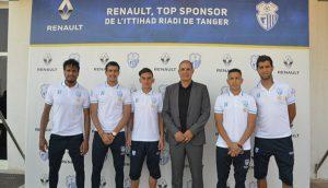 Renault, top sponsor de l'Ittihad Riadi de Tanger