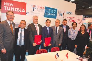 La France et la Tunisie signent un accord de coopération via la Fiev et la TAA