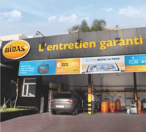 Fin de partenariat entre Midas et Auto Nejma