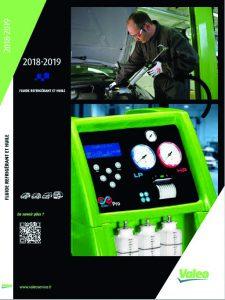 Nouveau catalogue fluide réfrigérant et huile de Valeo Service