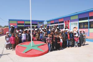 Renault Maroc donne un coup de jeune à un groupe scolaire dans la région d'Essaouira