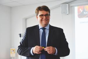 Erwan Baudimant, directeur commercial BASF Coatings, France, Afrique du Nord et Afrique de l'Ouest.