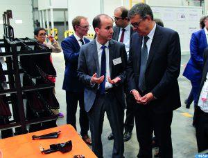 Le groupe français Galvanoplast ouvre son usine Electroplast à Tanger