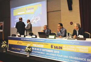 6ème édition du Salon de la Sous-Traitance Automobile à Tanger